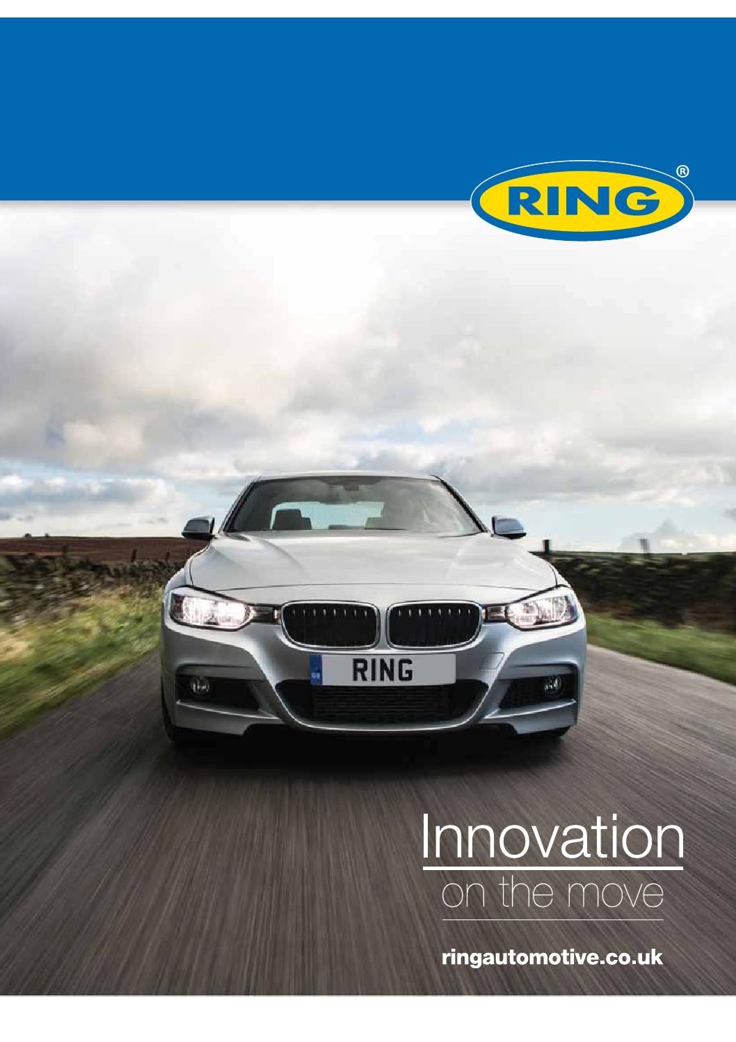 Ring Automotive - Katalog 2015 By Tourgear