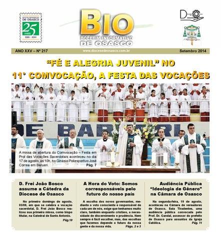[Bio Diocesano Setembro 2014]