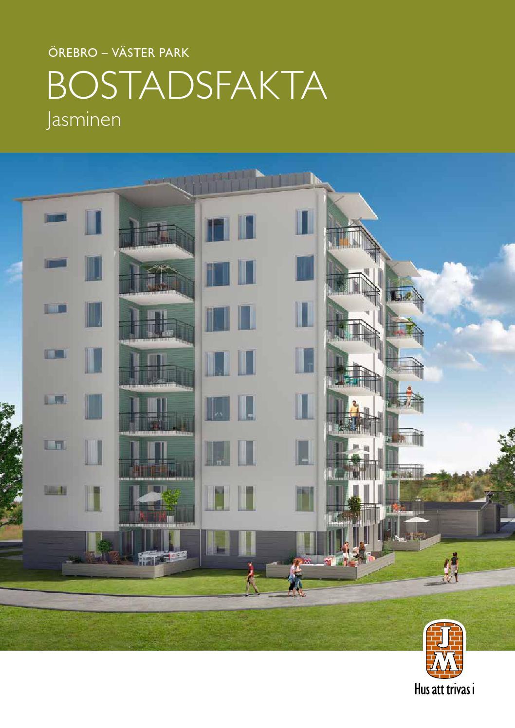 Jm, Örebro: väster park   jasminen. bostadsfakta. by jm ab   issuu
