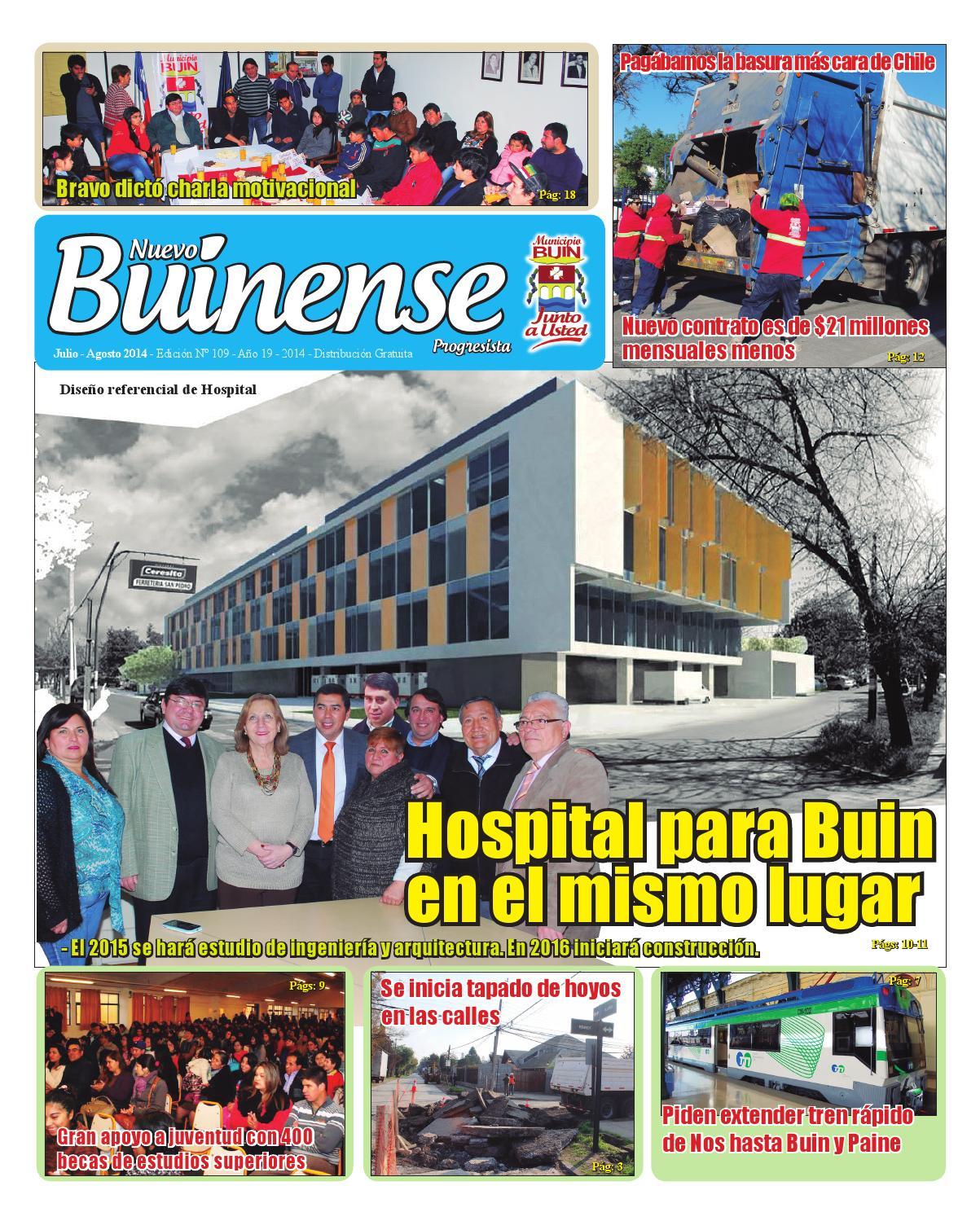 buinense 109 by municipalidad de buin issuu