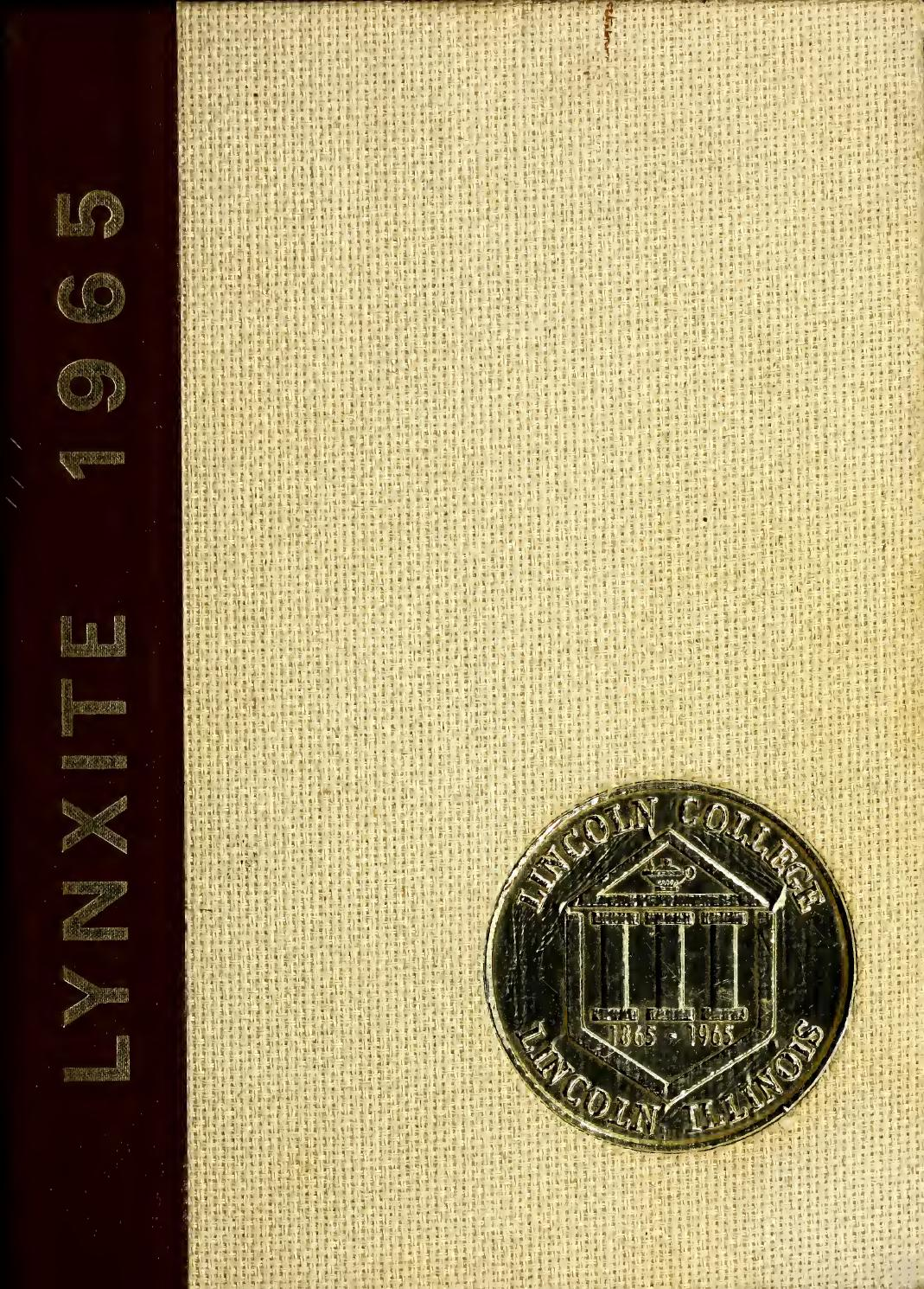 1965 Yearbook By Lincoln College Issuu