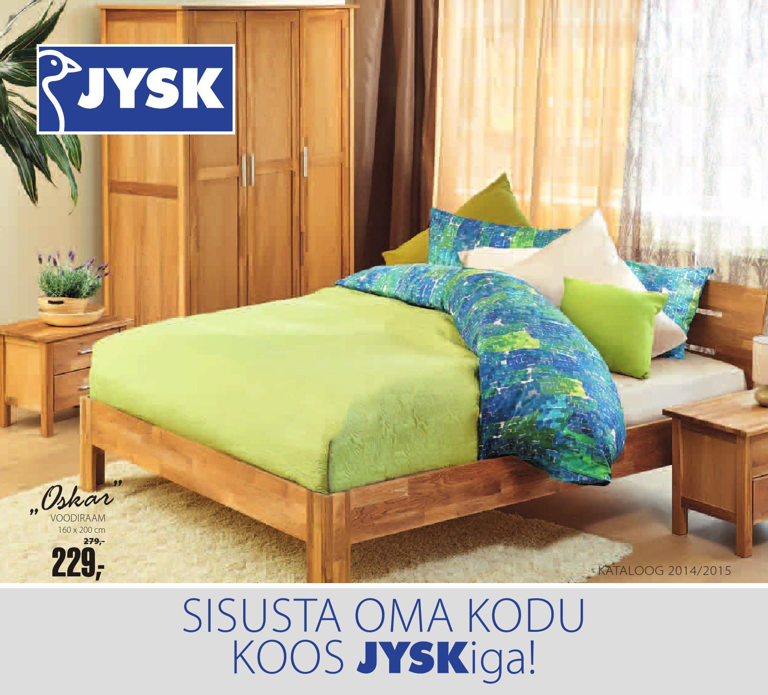 Jysk Furniture Catalogue 2014 2015 Estonia By Page 1 Issuu