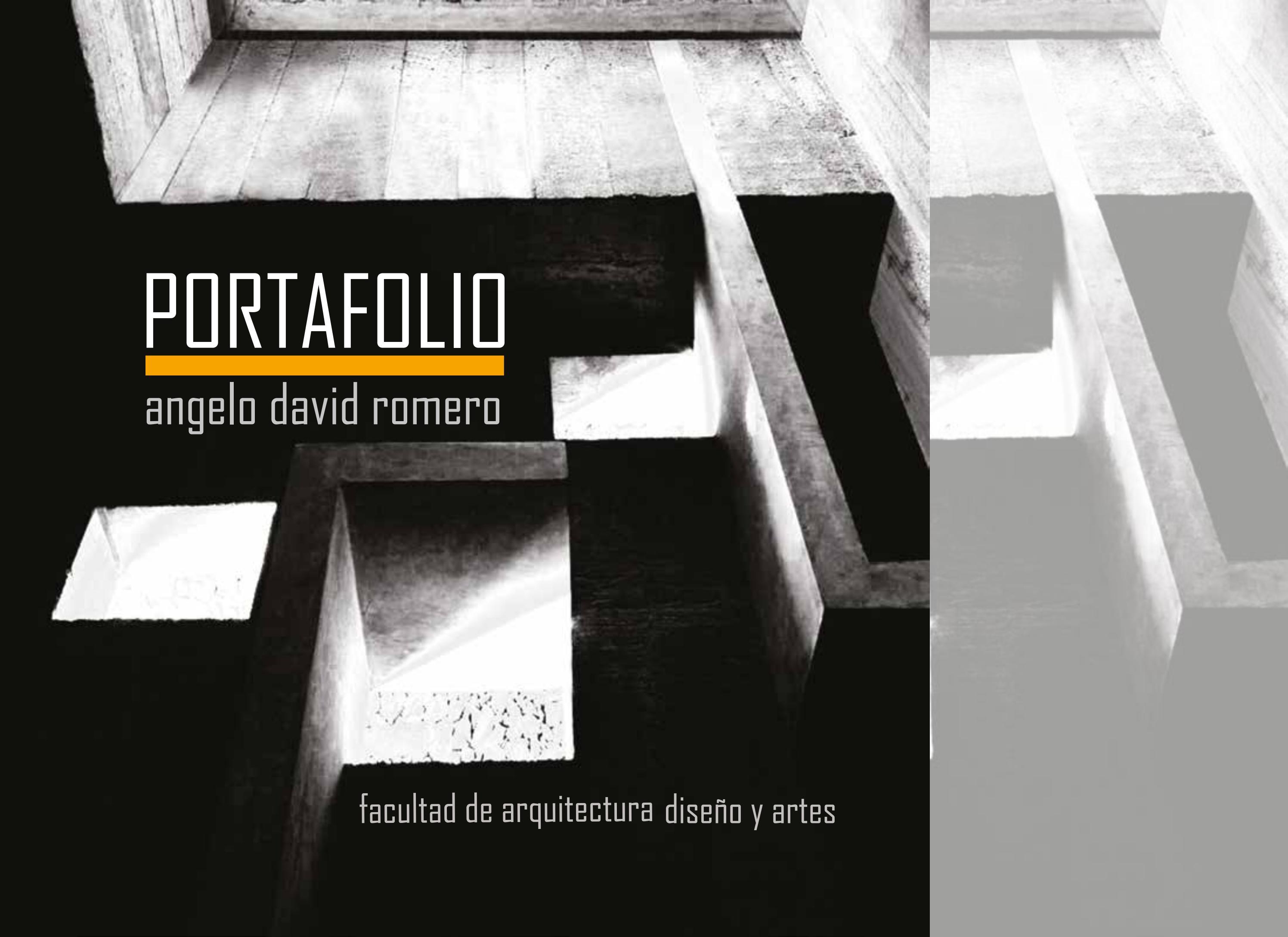 Portafolio arquitectura by angelo david issuu for Portafolio arquitectura