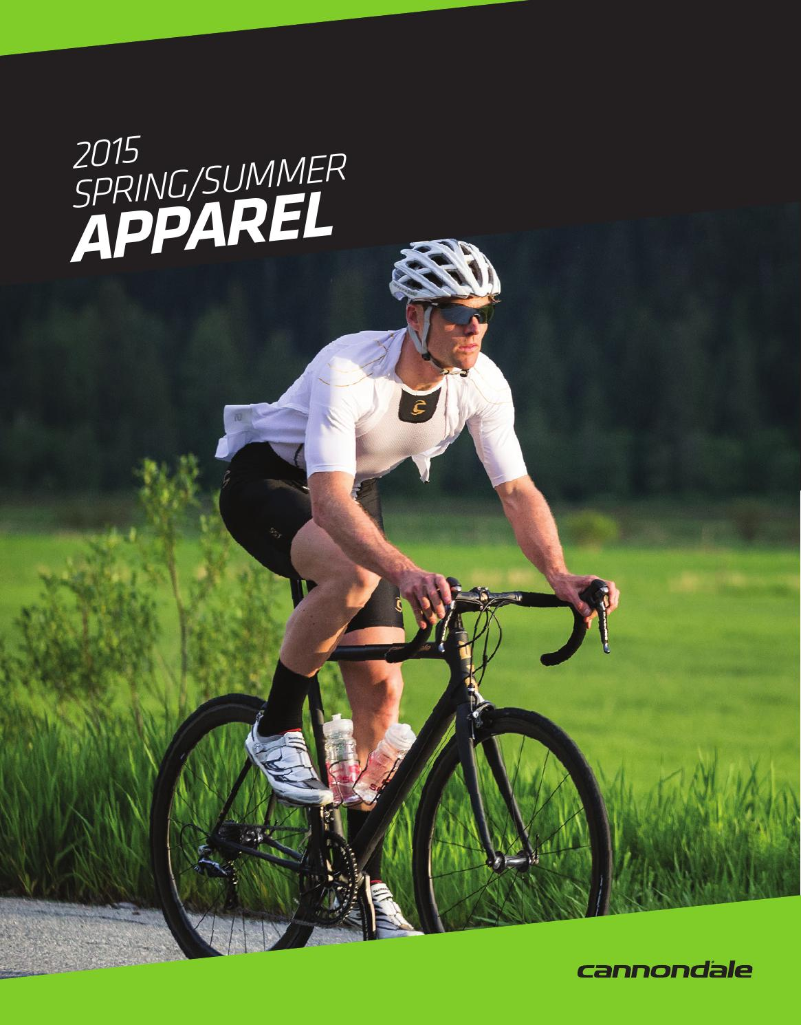 2015 spring / summer cannondale apparel catalog by ...