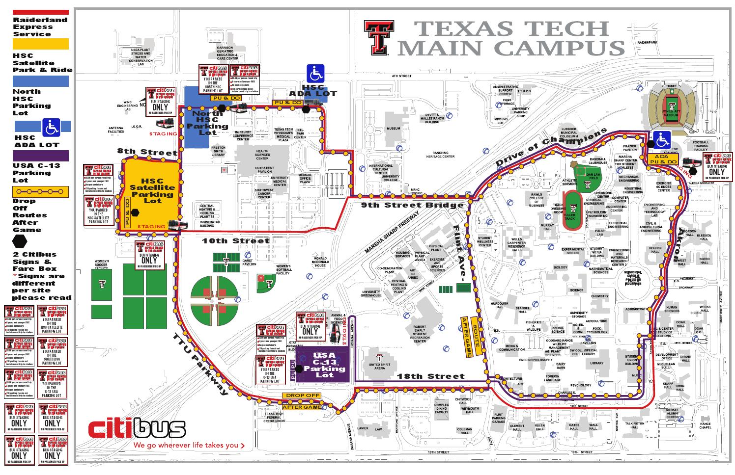 All about Your Campus Map Texas Tech University Ttu - kidskunst.info