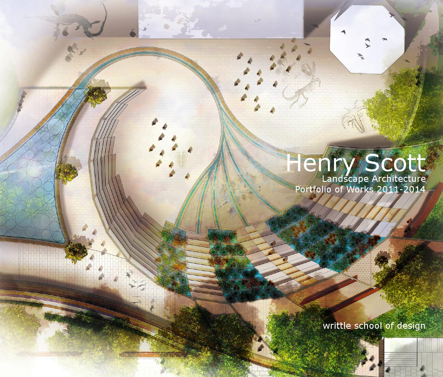 Landscape architecture portfolio of works by henry scott for Landscape design sheets