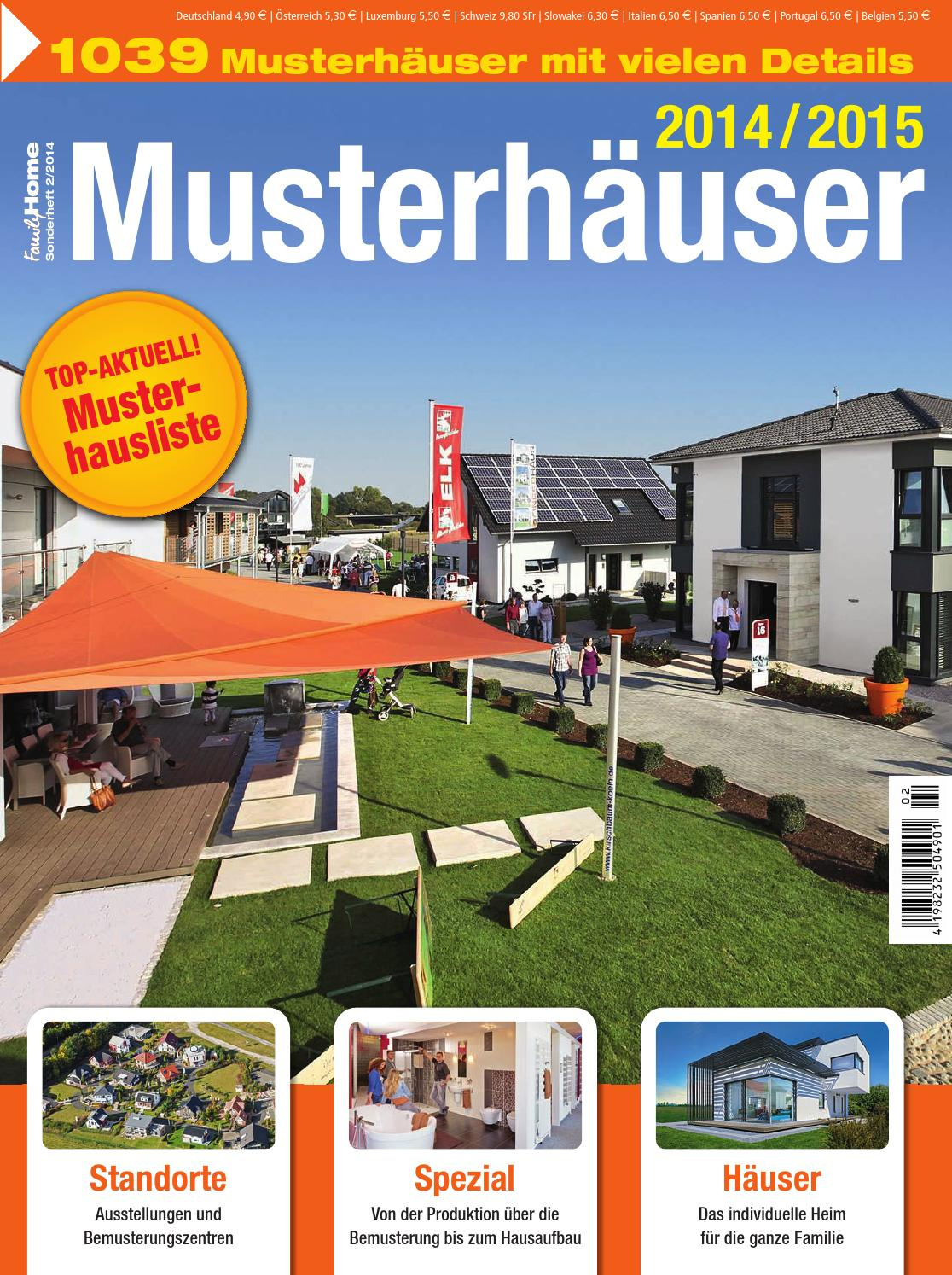 Musterhäuser 2015/2016 by Family Home Verlag GmbH - issuu