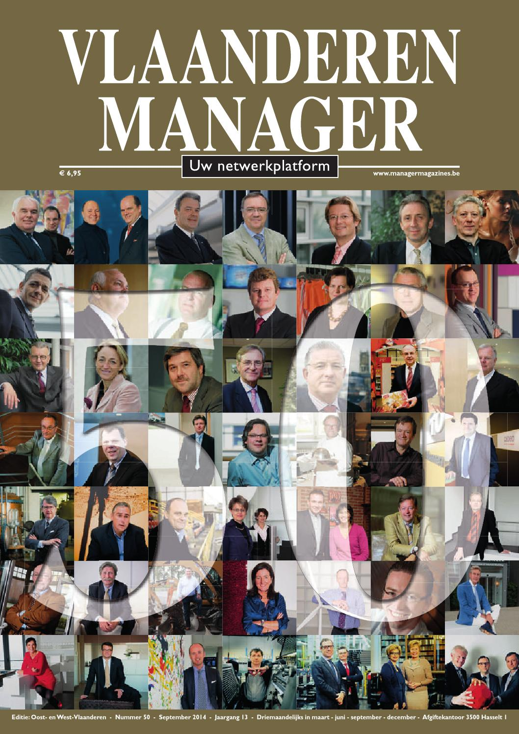 Vlaanderen manager 52 by manager magazines   issuu