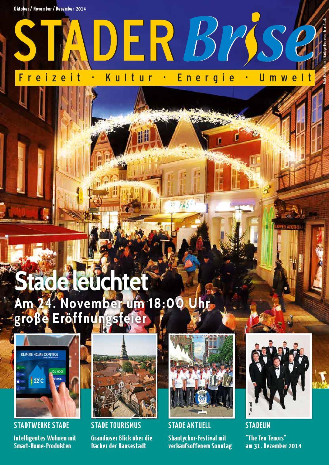 Stader Brise Oktober-Dezember 2013 by Stadtwerke Stade GmbH - issuu