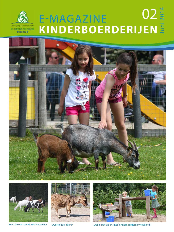 Vakblad kinderboerderijen (juni 2014) by vSKBN - issuu