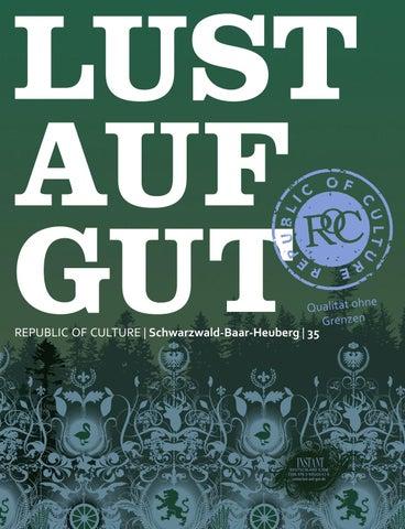 LUST AUF GUT Magazin | Schwarzwald-Baar-Heuberg Nr. 35