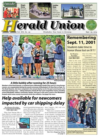 Herald Union, Sep 25, 2014