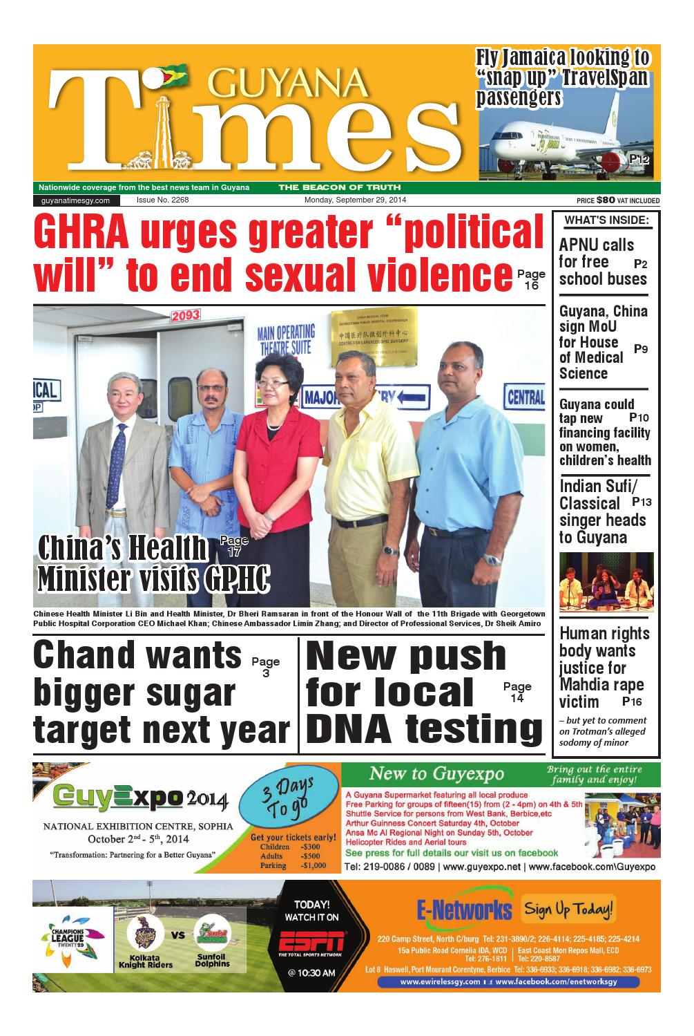 Guyana Times Daily by ...