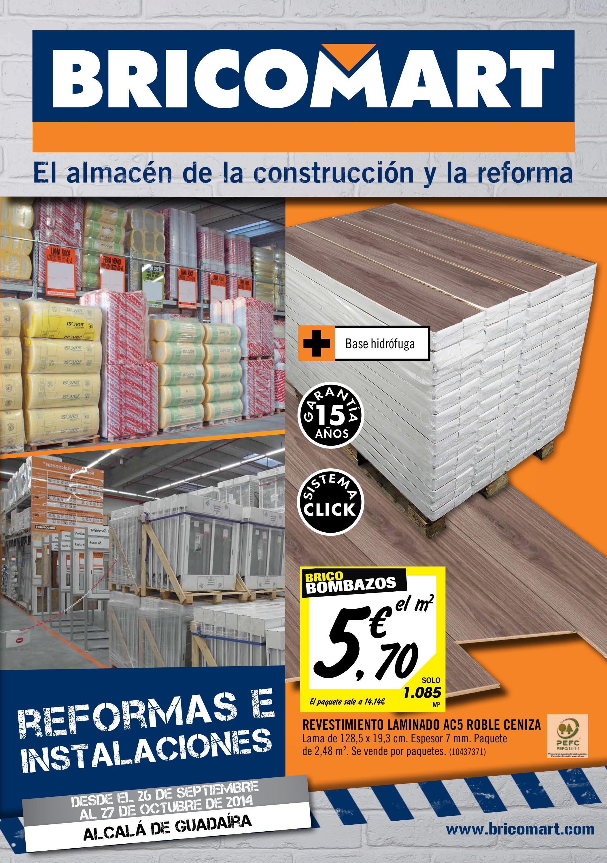 Bricomart folleto sevilla alcala guadaira 22 09 2014 by for Precio de papel vinilico