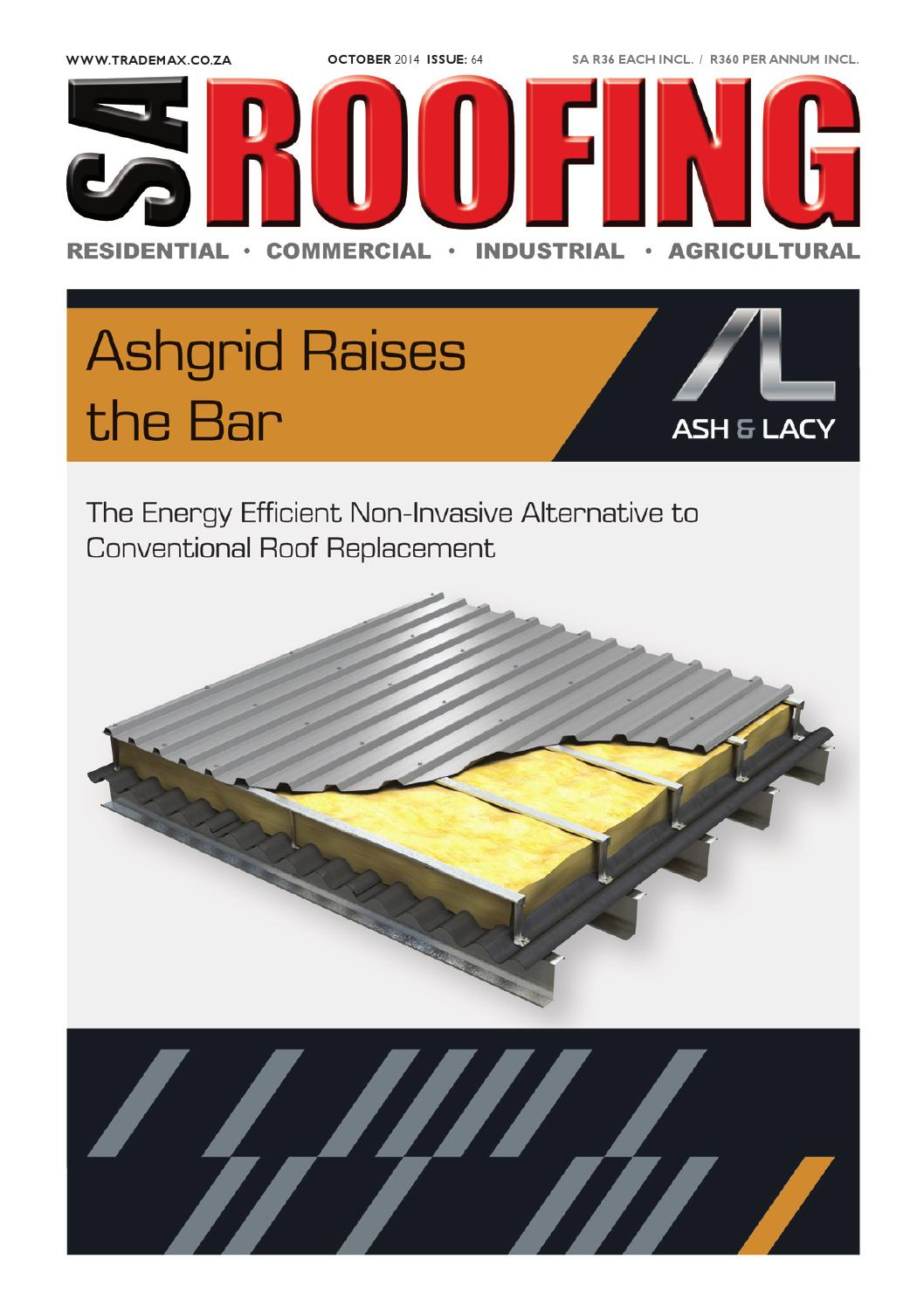 Morgan Thermal Ceramics Sa Roofing October 2014 Issue 64 By Trademax Publications Issuu