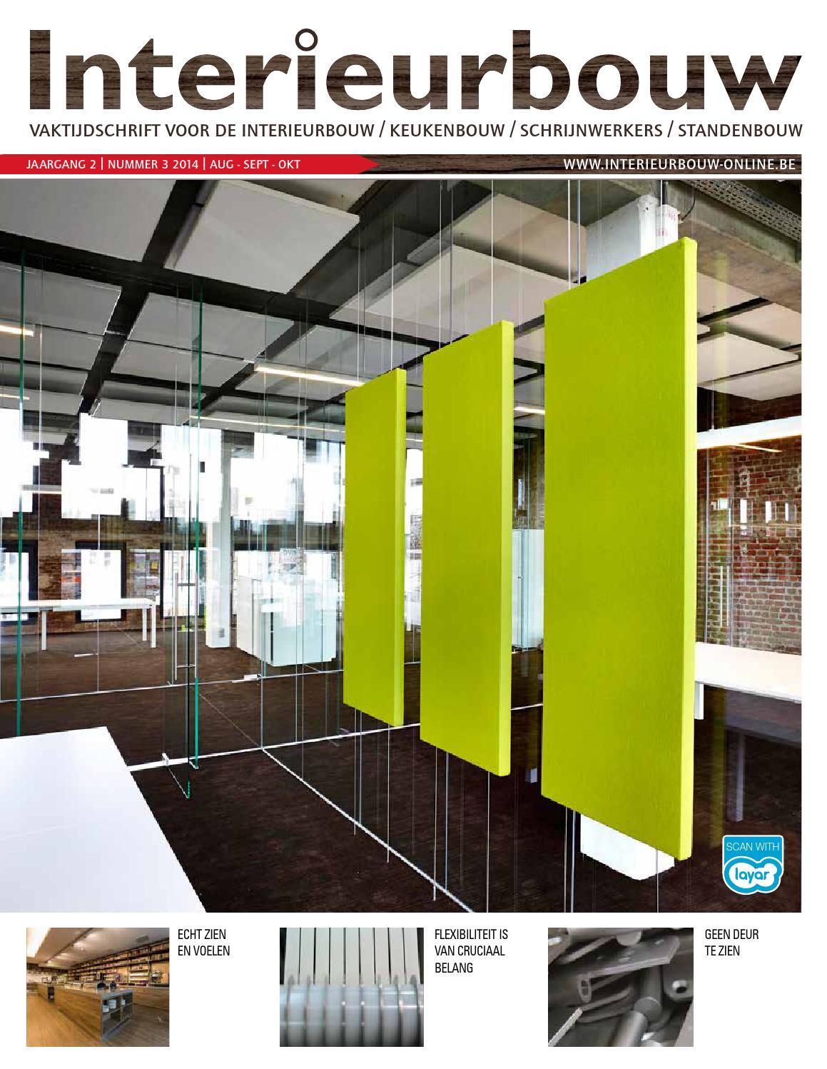 Interieurbouw be 03 2014 by louwers uitgeversorganisatie for Interieur bouwer