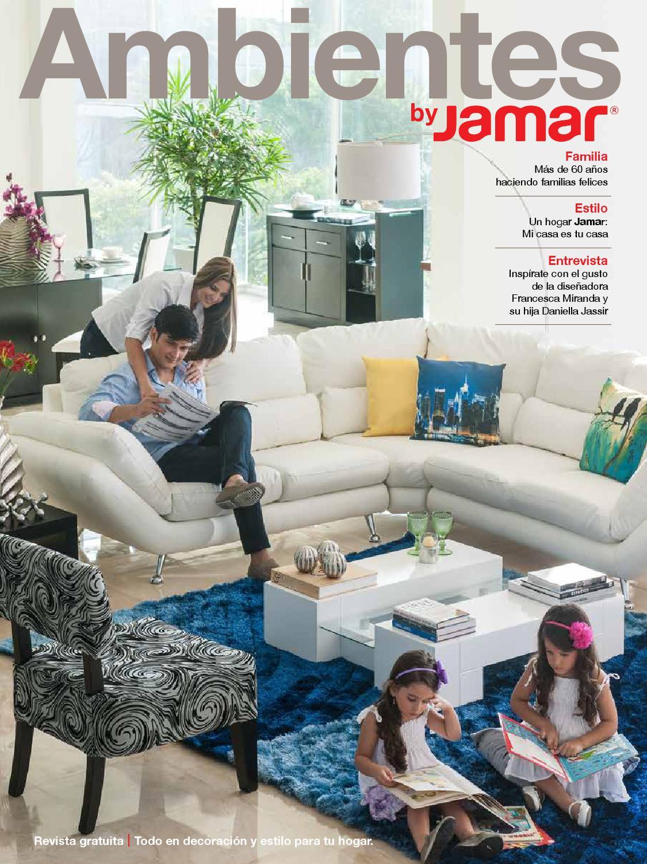 Cat logo muebles jamar panam 2014 by interiores - Catalago de muebles ...