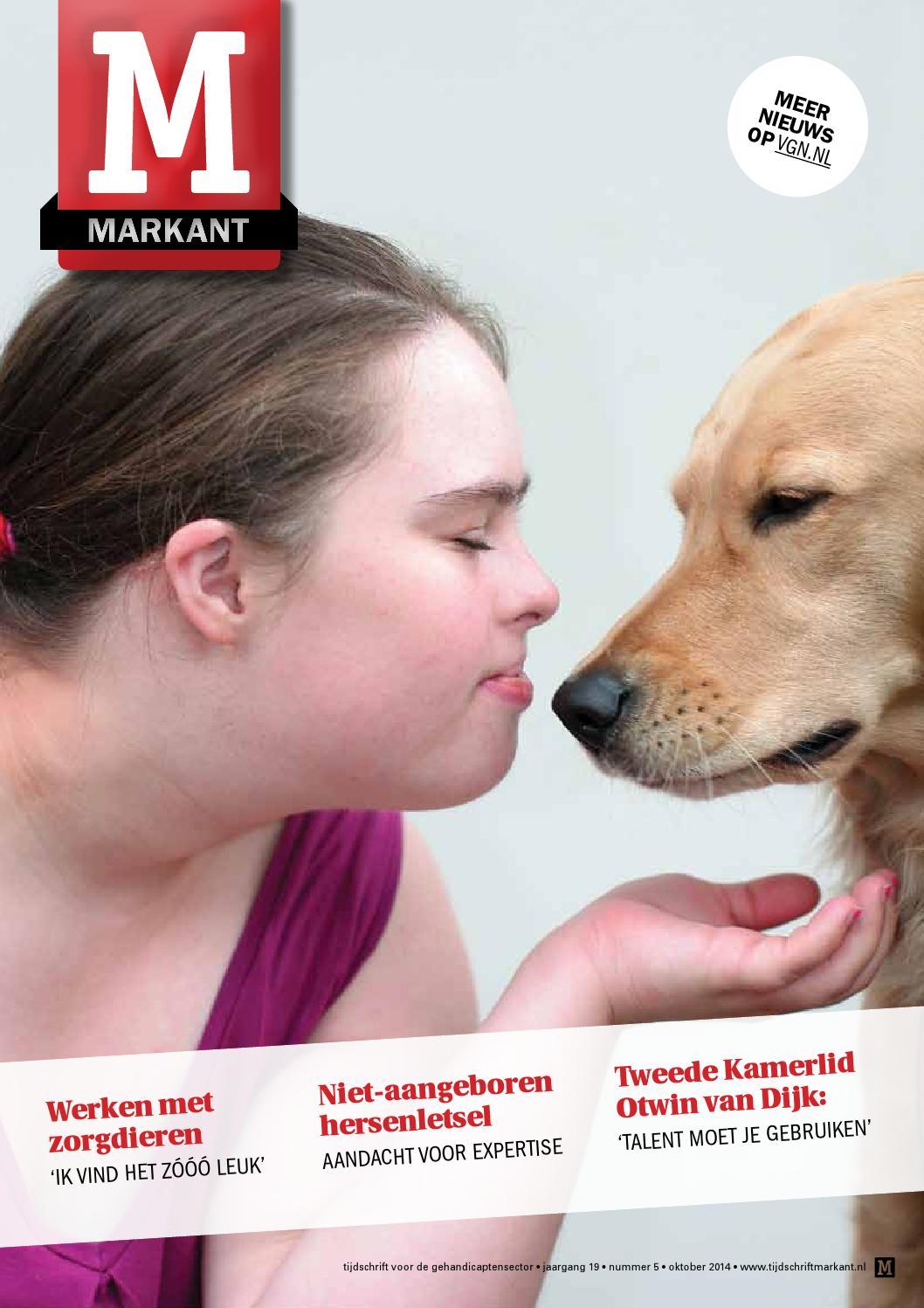 Markant 2014, nummer 4 by vereniging gehandicaptenzorg nederland ...