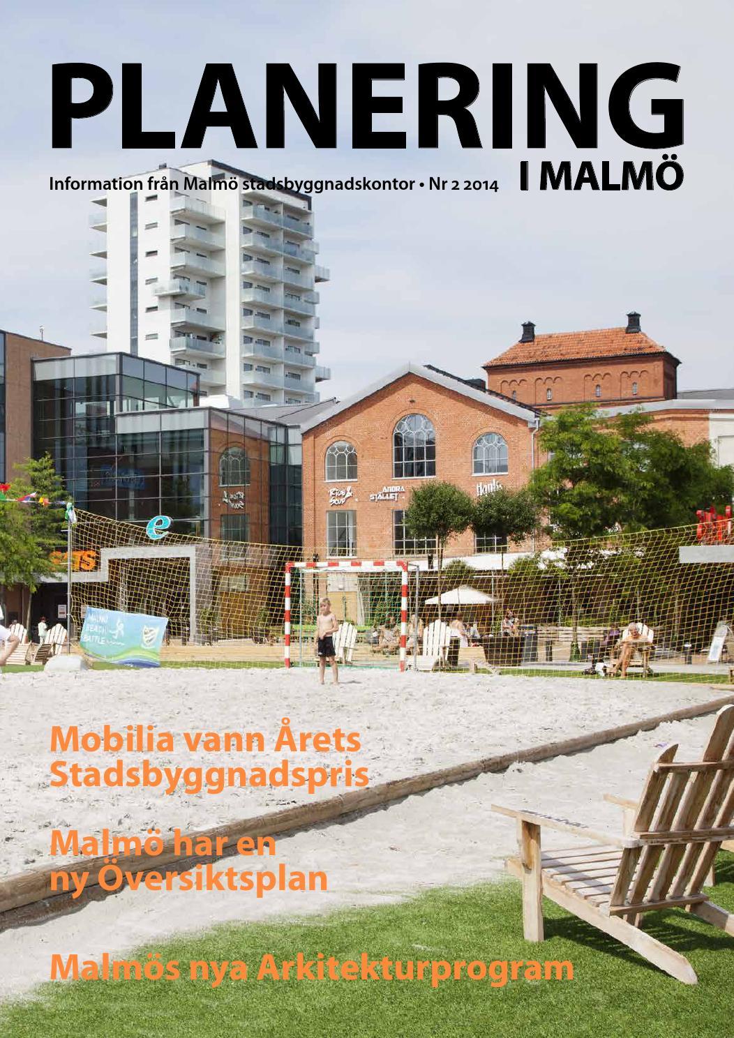 Planering I Malm 2014 Nr 2 By Malm Stadsbyggnadskontor