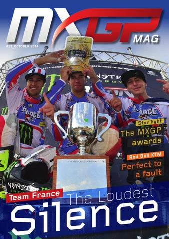 MXGP Mag #13 October 2014