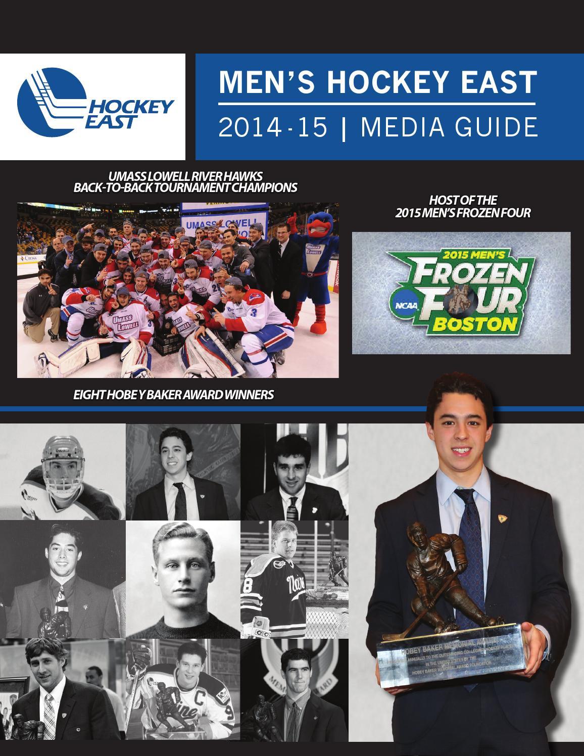 2014 15 hockey east men s media guide by hockey east