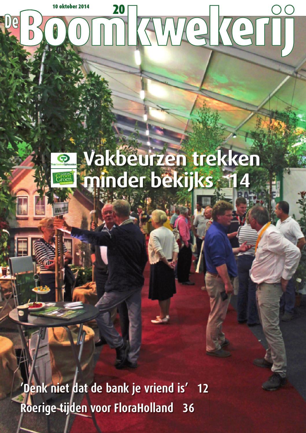 Bkw 22 2014 by stichting vakinformatie siergewassen   issuu