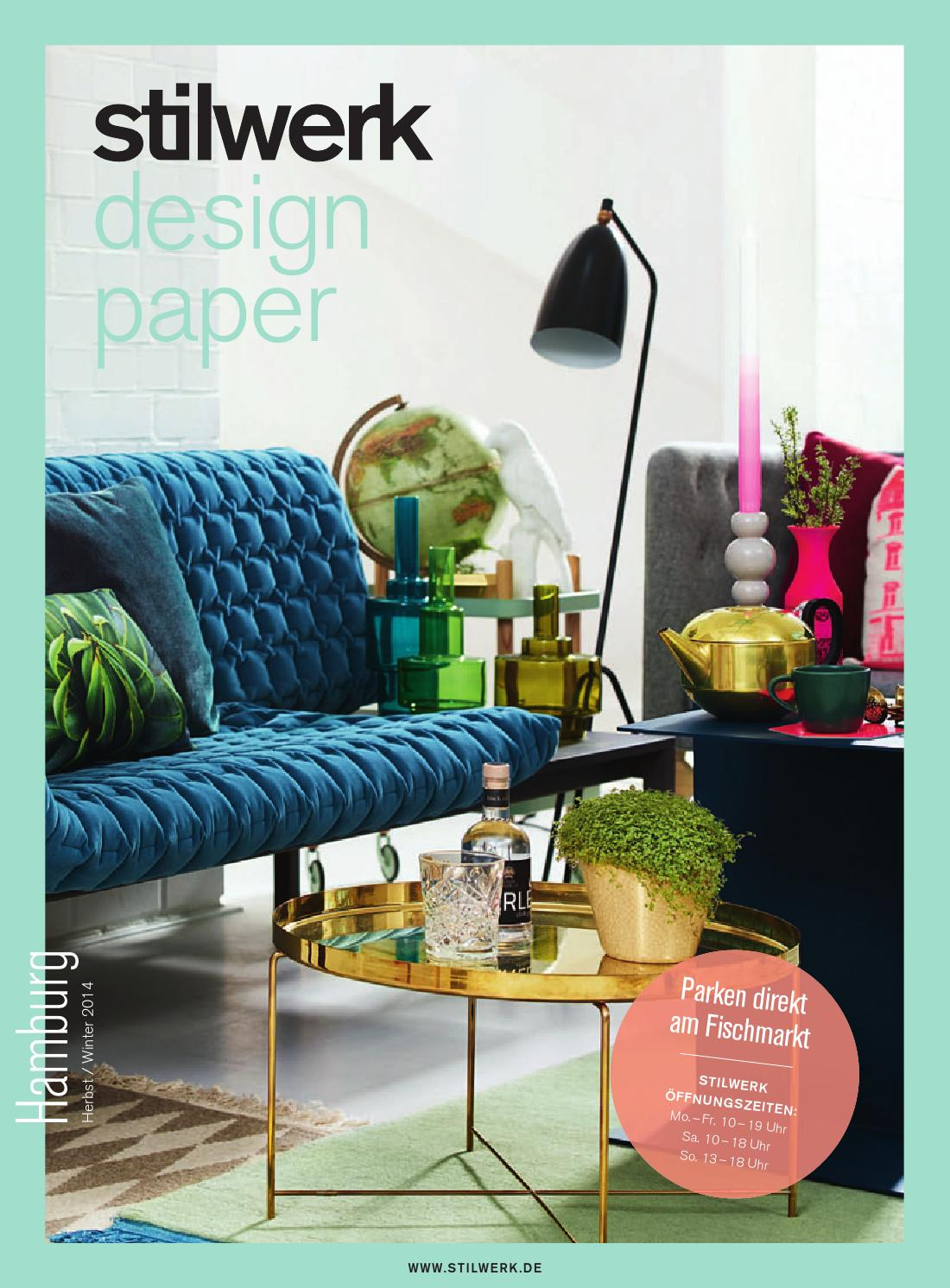 stilwerk design paper hamburg herbst winter 2014 by stilwerk issuu. Black Bedroom Furniture Sets. Home Design Ideas
