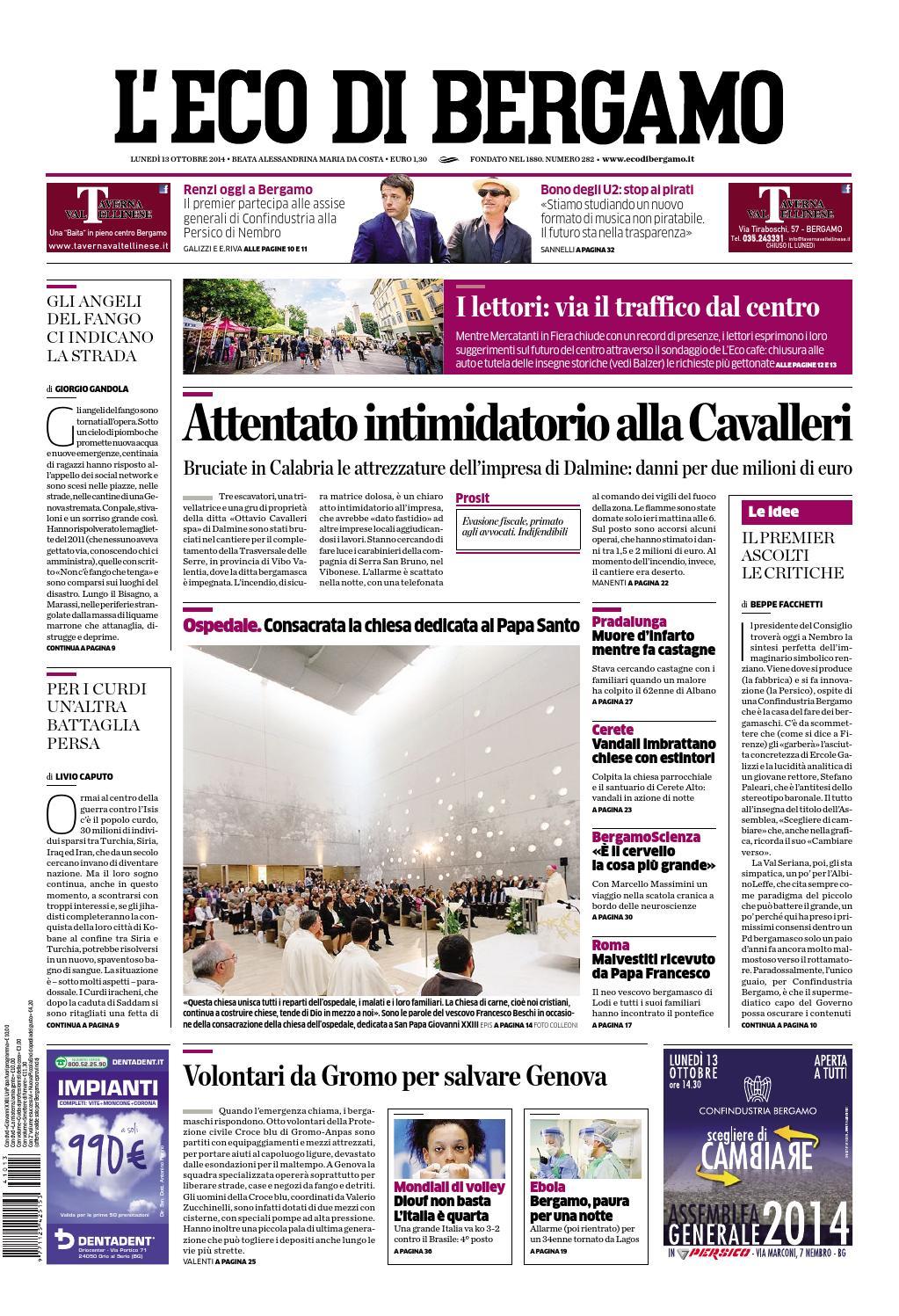 L'Eco di Bergamo by OPQ - Organizzazione Pubblicità ...