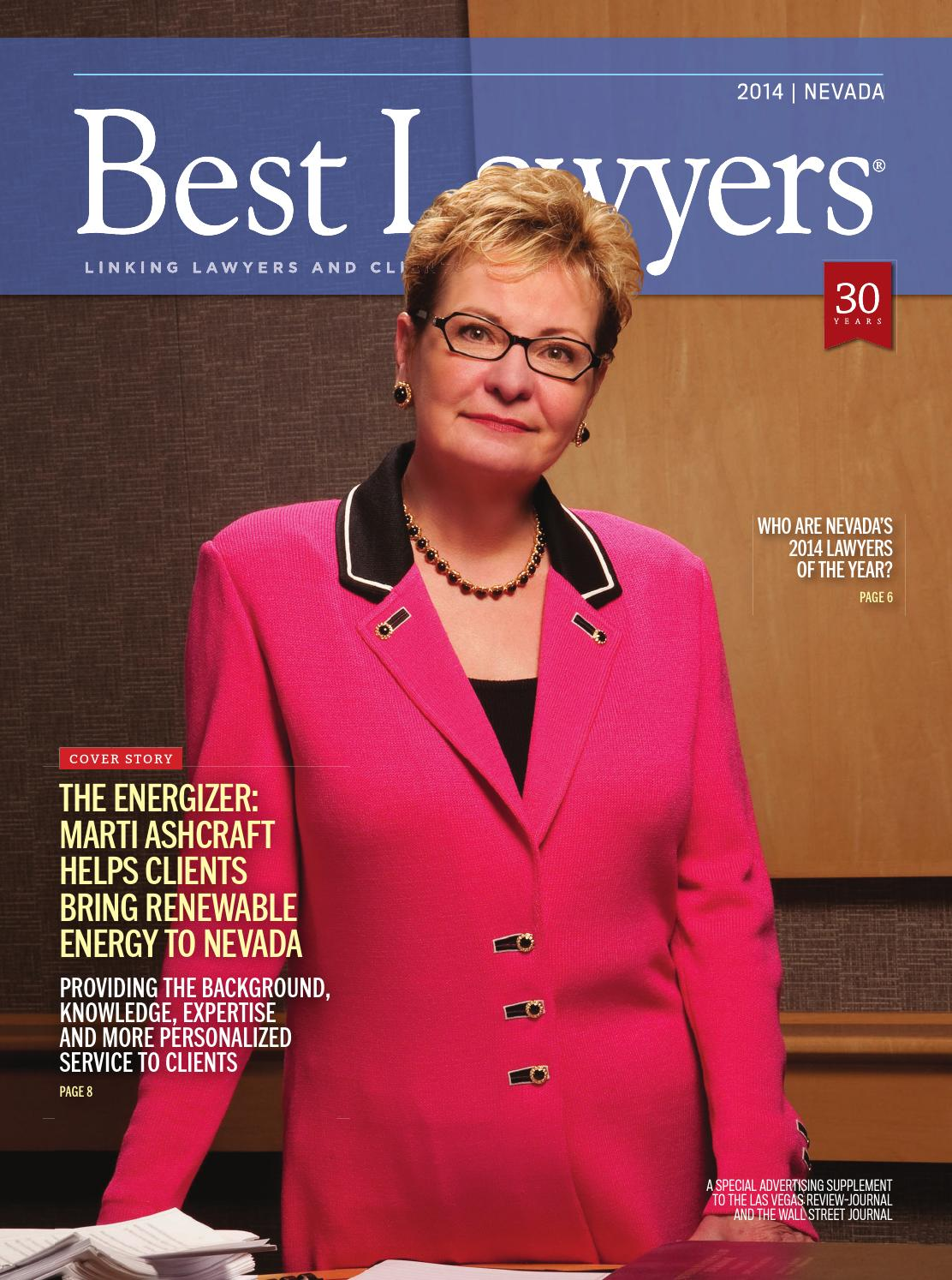 Best Lawyers In Nevada 2014 By Best Lawyers Issuu