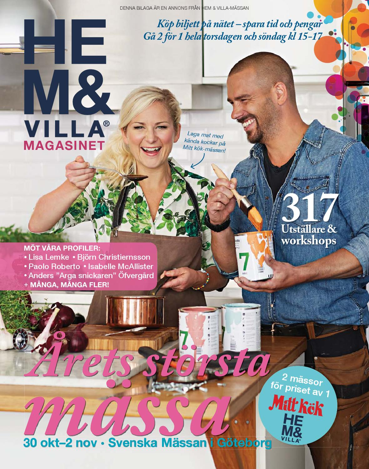 Hem & Villa-magasinet 2014 Göteborg by Vi i Villa - issuu