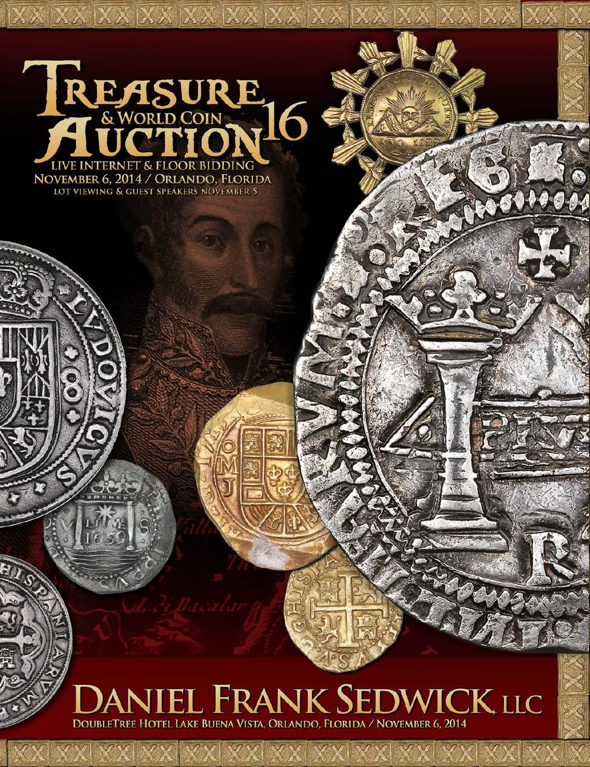 Treasure Amp World Coin Auction 16 By Daniel Frank Sedwick