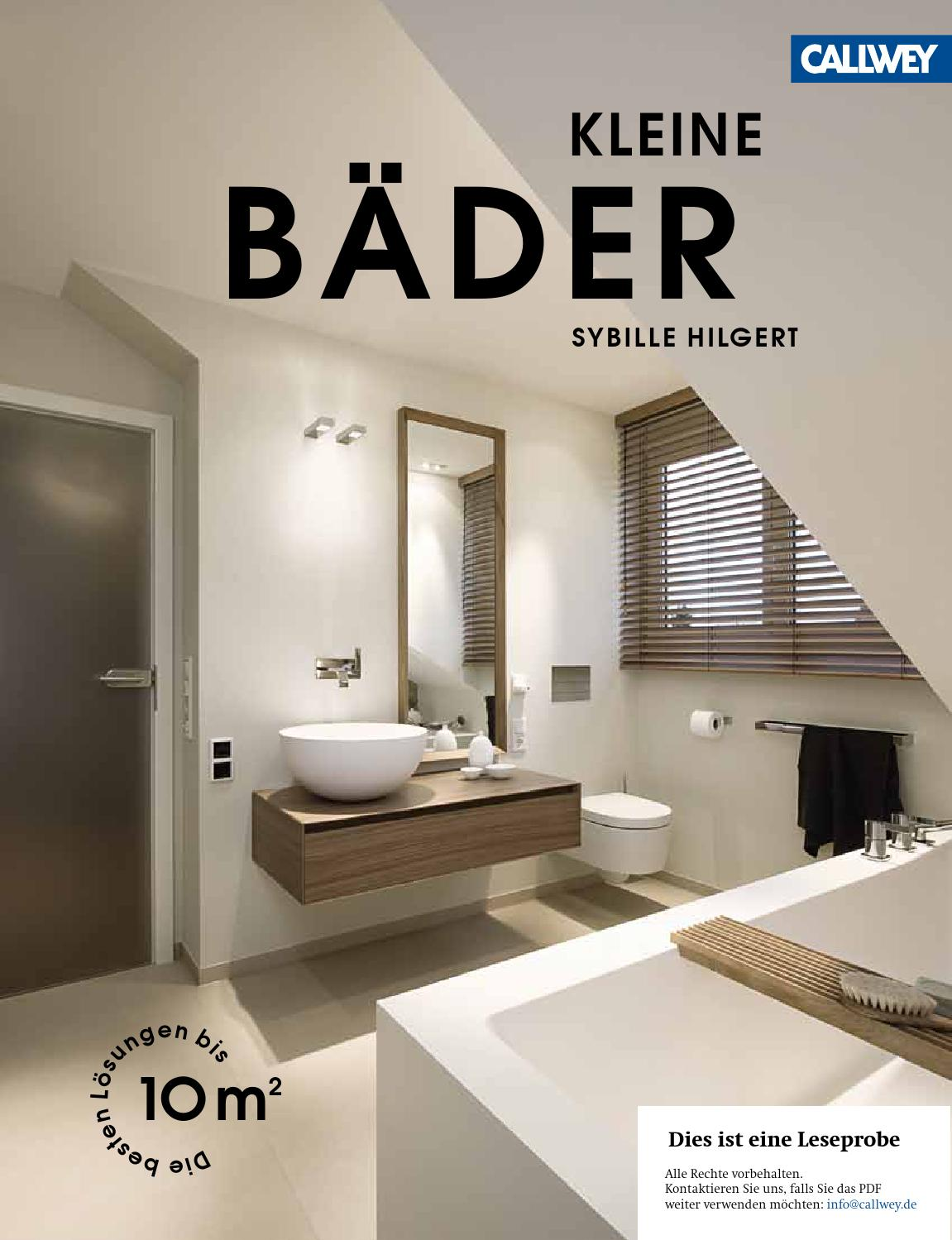 Hilgert Kleine Baeder issuu by Georg D.W. Callwey GmbH & Co. KG ...