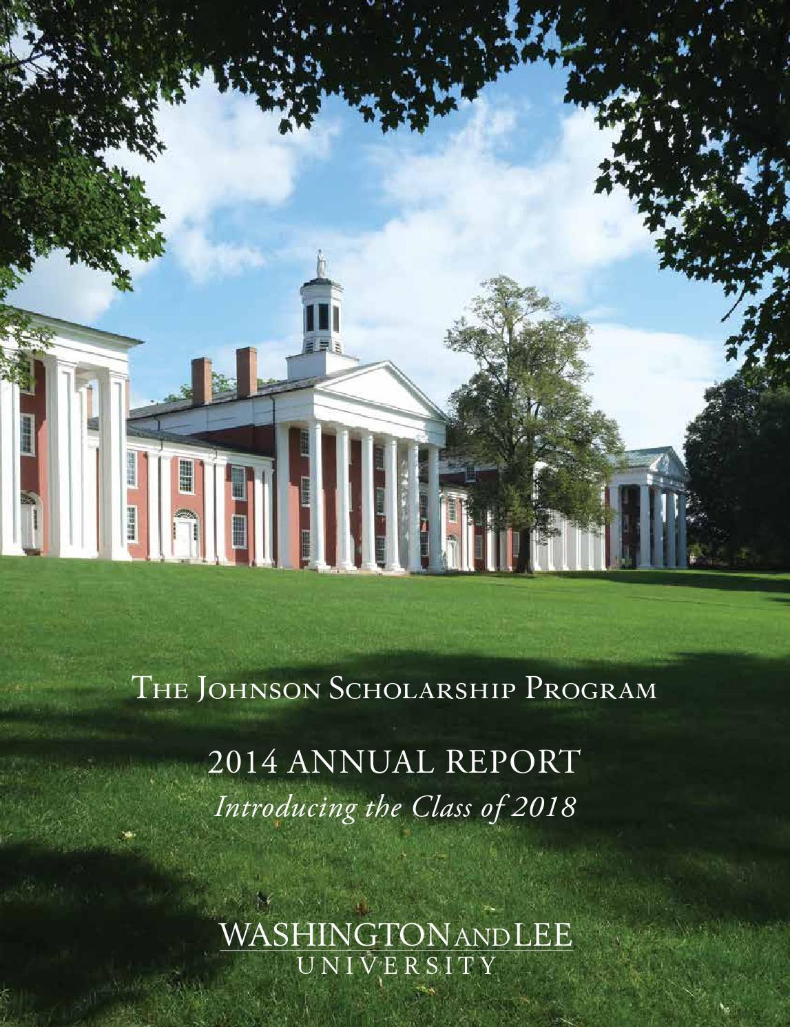washington university scholarship essays