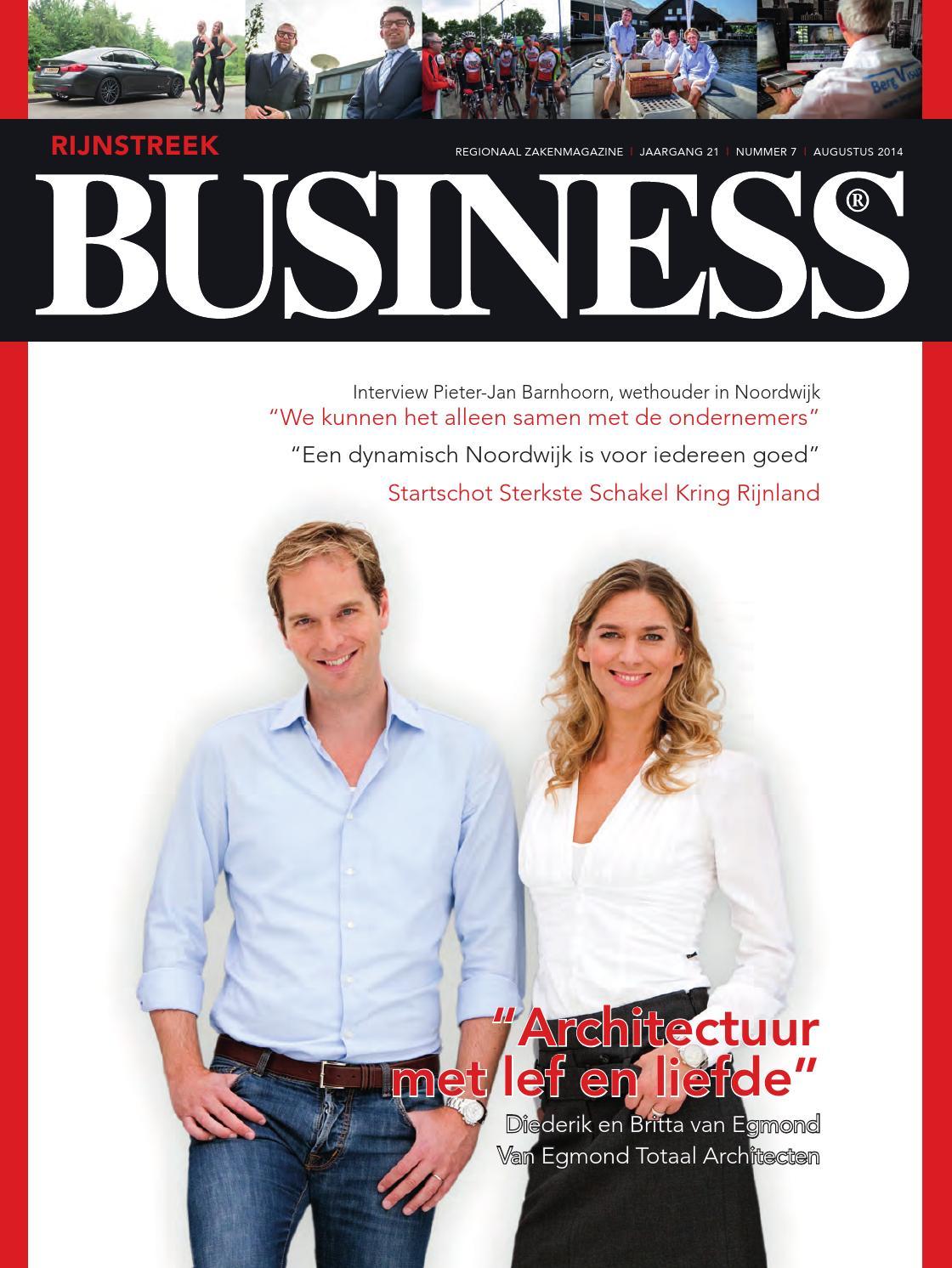 Rijnstreek business, nummer 10 december 2015 by Rijnstreek ...