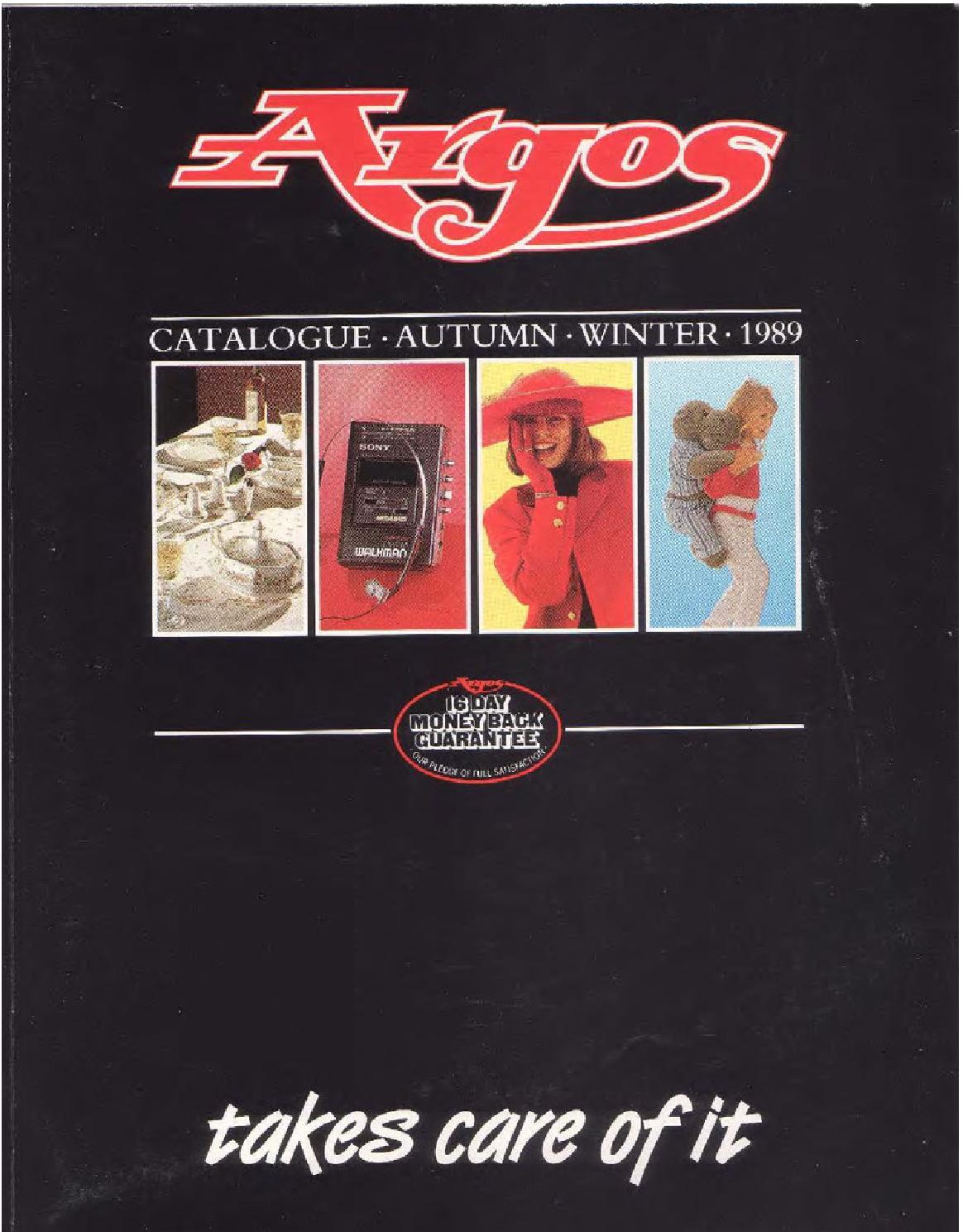 Argos No 32 1989 Autumn Winter By Retromash Issuu