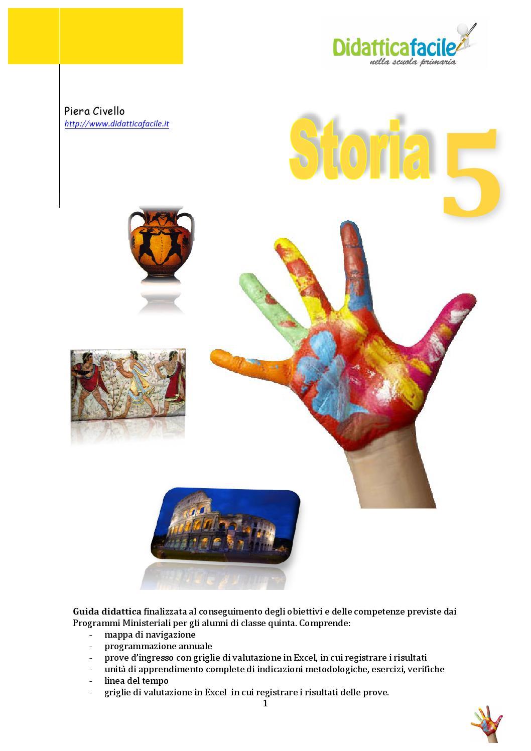 Vetrina guida di storia 5 by piera civello issuu - Atterrare prima del tempo caratteri ...