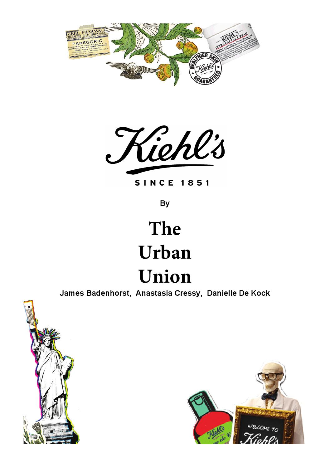 kiehls marketing plan By adopting a direct to consumer strategy, businesses gain a stronger  take for  example kiehl's, the global luxury skincare brand is currently  efforts with new  business models to support their digital marketing strategy, one.