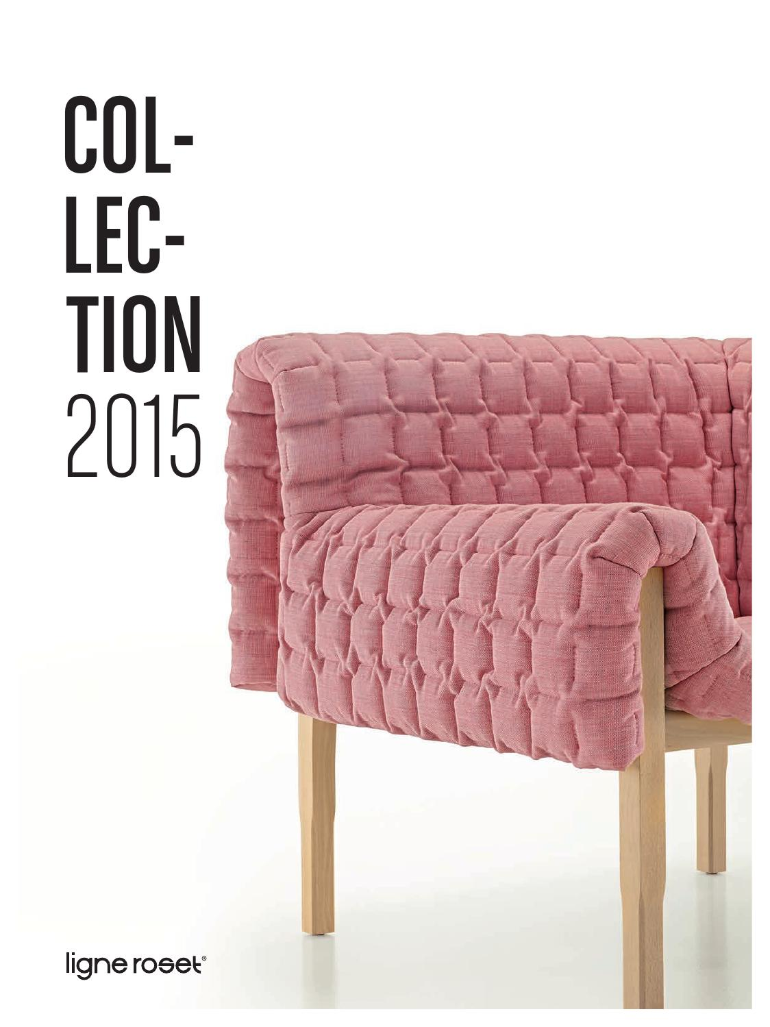 Ligne roset 2015 by zinc design issuu for Sofas modulares de tela