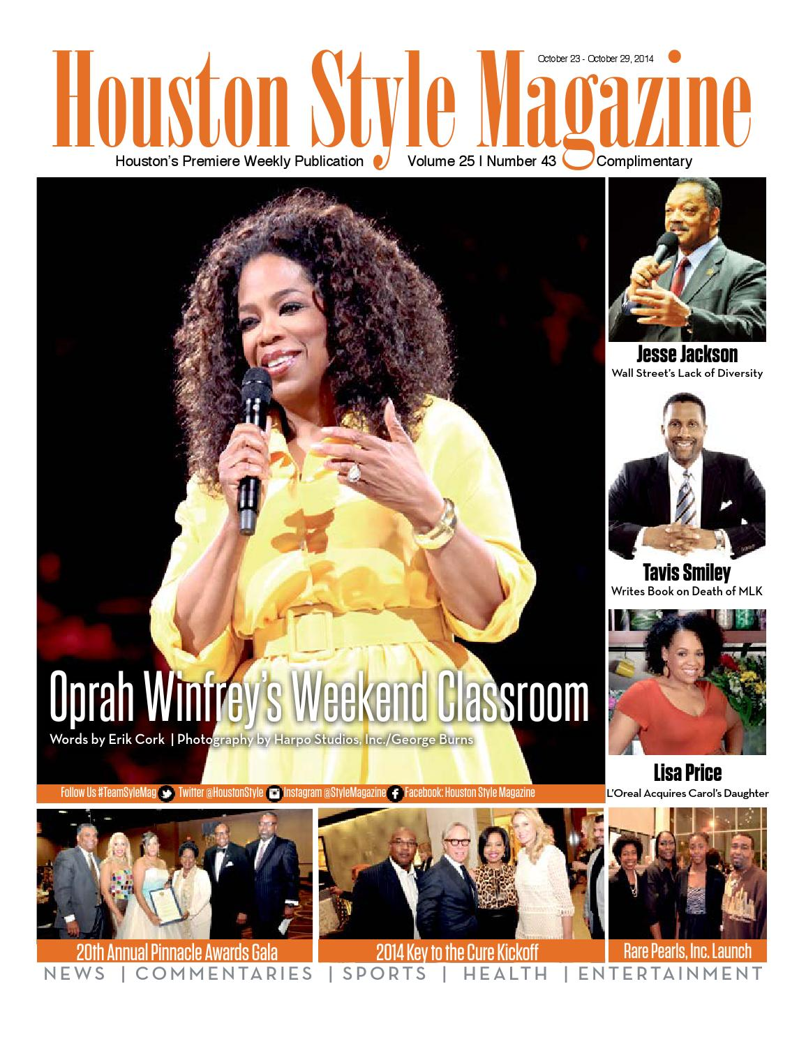 Houston Style Magazine Vol 25 No 43 By Houston Style Magazine Issuu