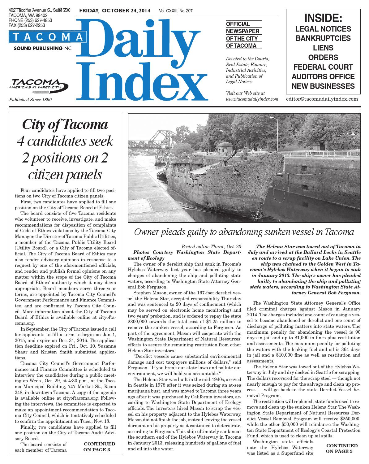 tacoma daily index by sound publishing issuu