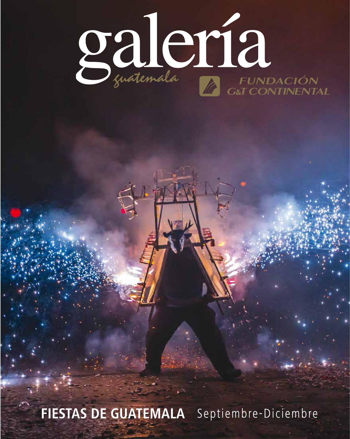 revista galer237a no 48 fiestas de guatemala de septiembre