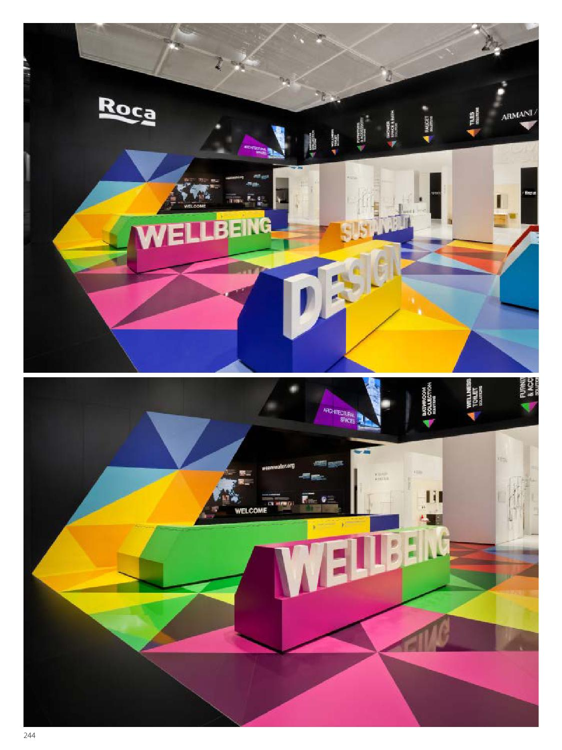 Exhibition space design by hi design international for Space design ltd
