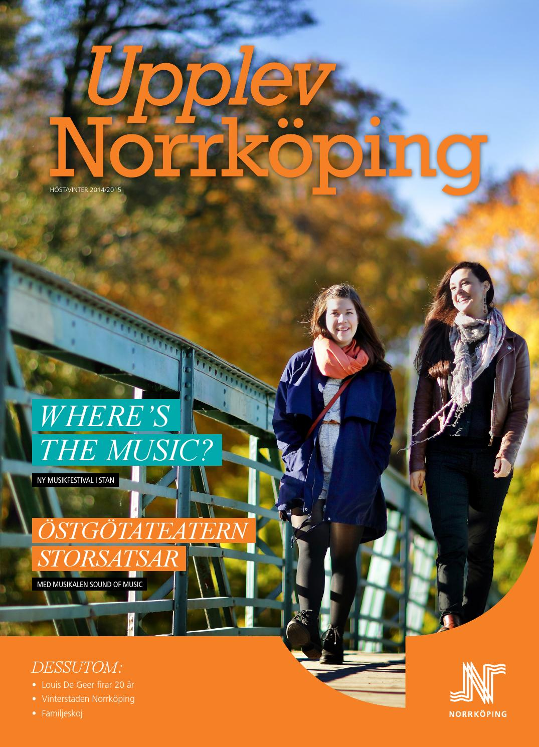 Upplev norrköping magasin höst/vinter 2015 by upplev norrköping ...