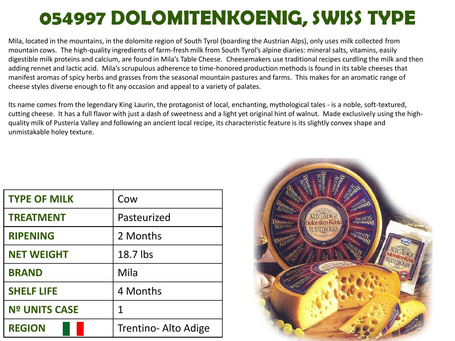 Discover Italian Cheeses By Atalanta Corp Page 101 Issuu