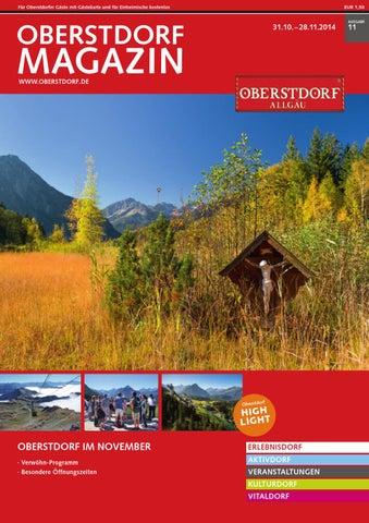 Oberstdorf Magazin 11/2014