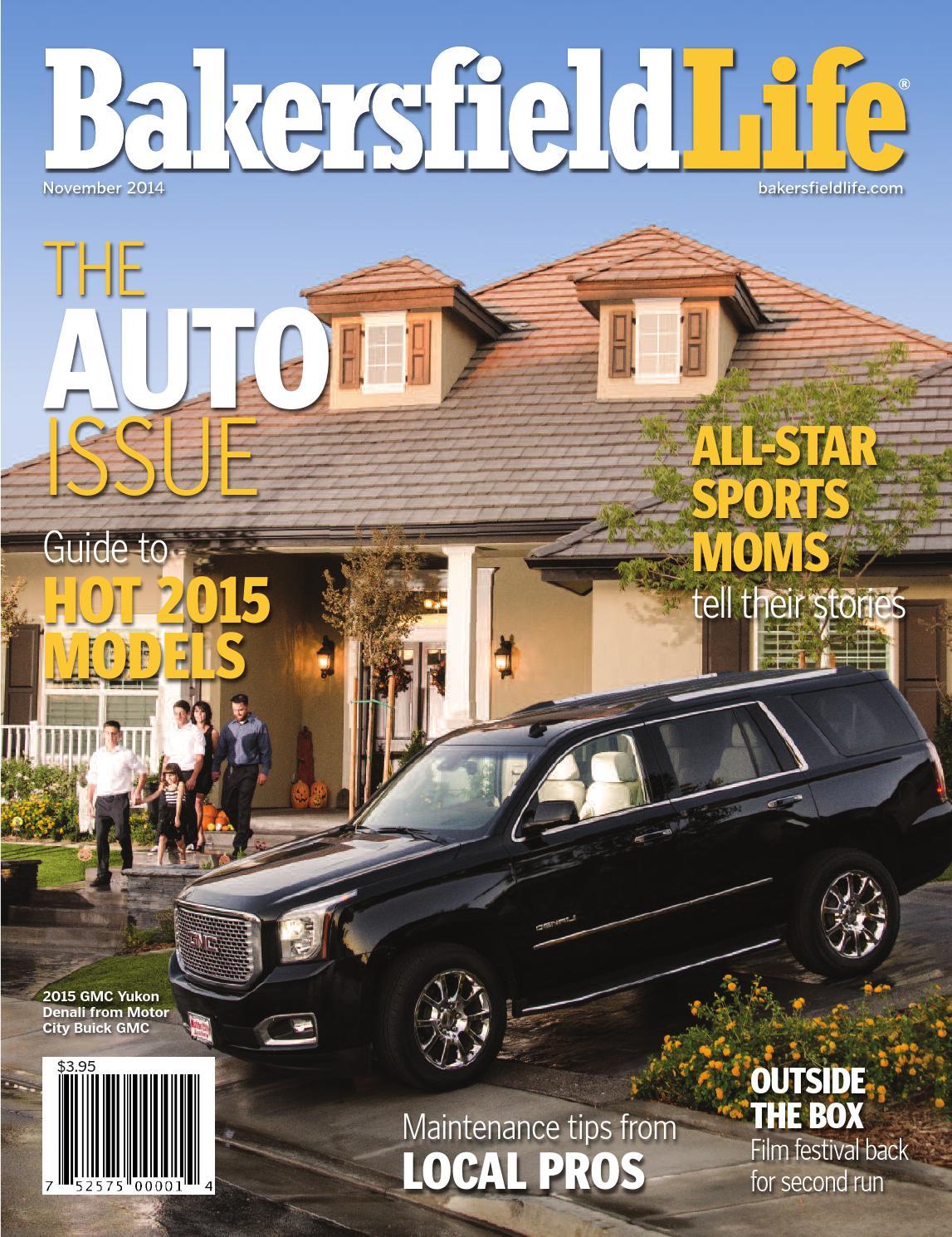 Bakersfield life magazine november 2014 by tbc media for Bakersfield home magazine