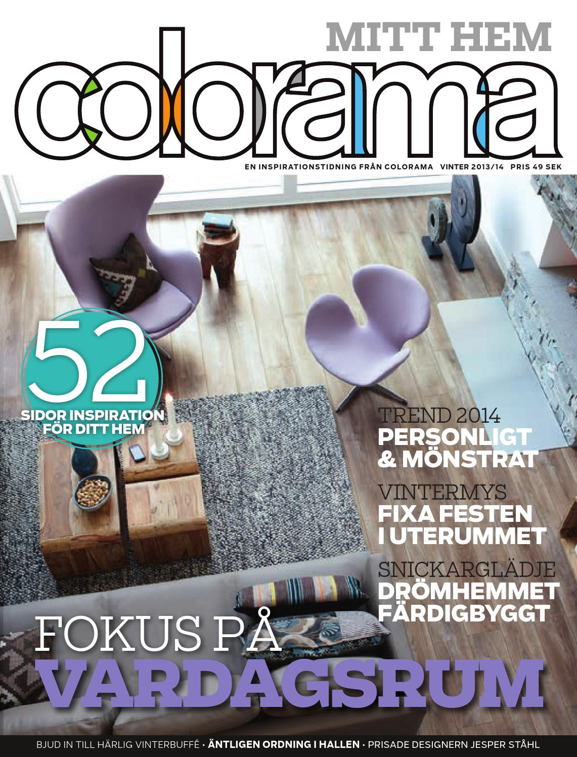 Colorama Mitt hem, 2013-4 vinter by Colorama - issuu