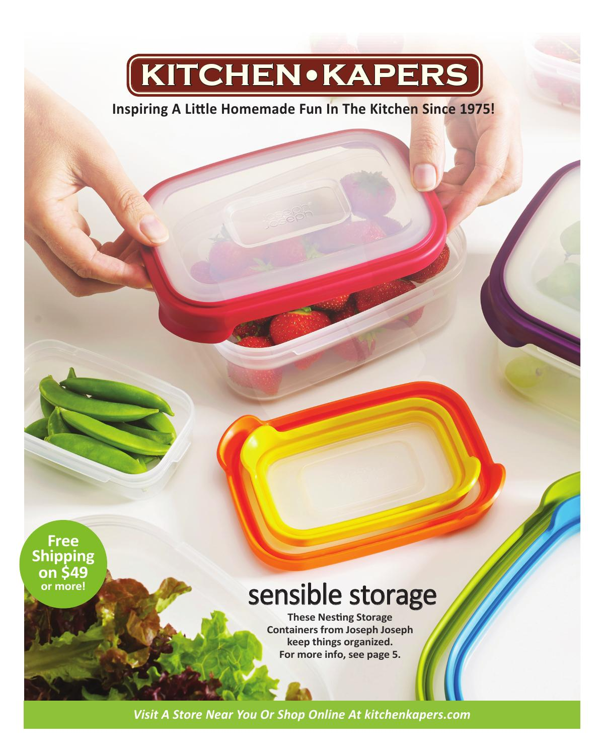 Kitchen Kapers 2015 Catalog by Kitchen Kapers issuu
