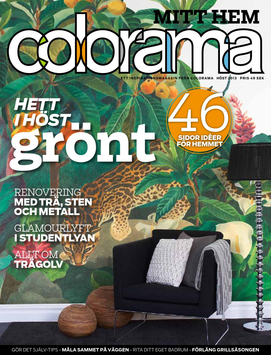 Colorama mitt hem, 2013 3 höst by colorama   issuu