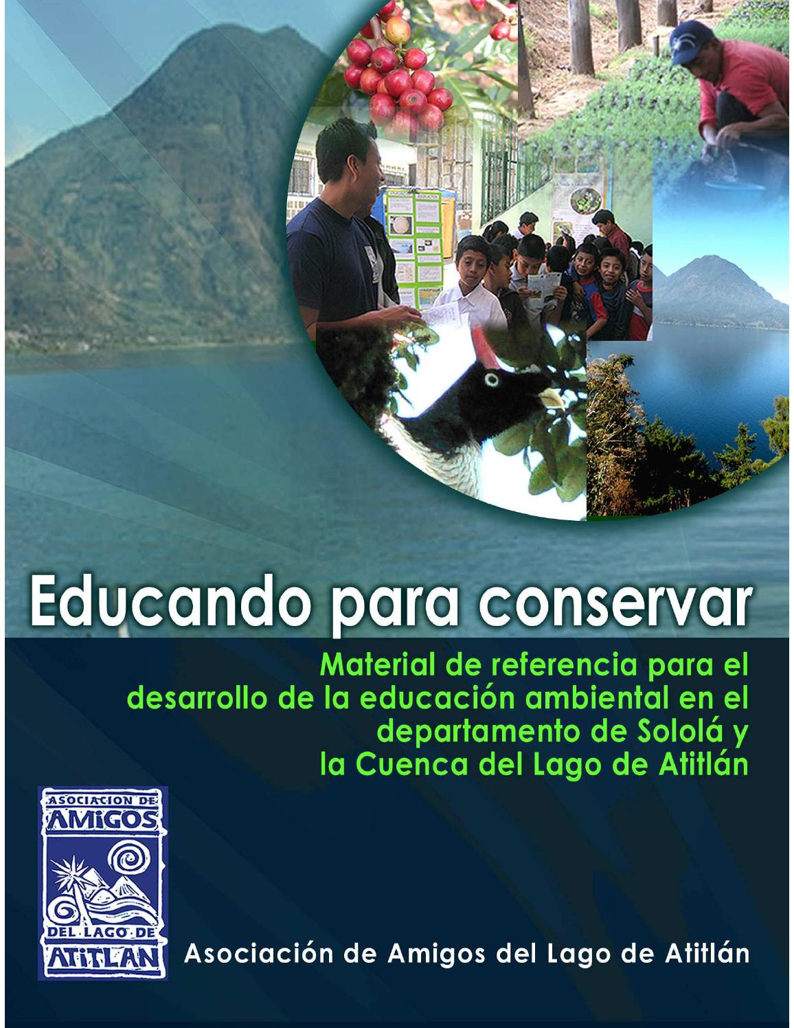 Manual educando para conservar by asociaci n amigos del for Manual de piscicultura tilapia